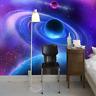 3D Beautiful Space Universe Scenery Self-adhesive Wallpaper Wall Mural Decor