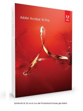 Adobe Acrobat XI PRO (11) READER Multilanguage WINDOWS DEUTSCH VOLLVERSION ESD