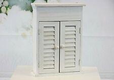 Shabby Chic Wooden Wall Mounted Key Holder Cabinet Key Storage Box Home Decor