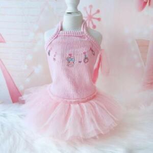 Pet Dog Pettiskirt Sweet Small Dogs TUTU Dress Summer Pet Puppy Cat Lace Clothes