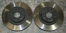 Subaru BRZ SE Lux Front Vented Brake Discs Pair Delivery Miles Genuine OE