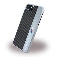Bmw tapa trasera cubierta dura funda Bmhcp7meb Apple iPhone 7 negro plata negra