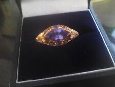 14ct Yellow Gold AAA Tanzanite and Alexandrite Generations 1912 Ring