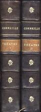 Theatre de Pierre et Thomas Corneille Firmin Didot 2 tomes non datés