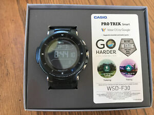 casio Pro Trek smart Watch WSD F30