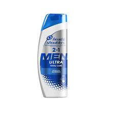 HEAD & SHOULDERS MEN ULTRA 2 IN 1 TOTAL CARE SHAMPOO 225ML x2