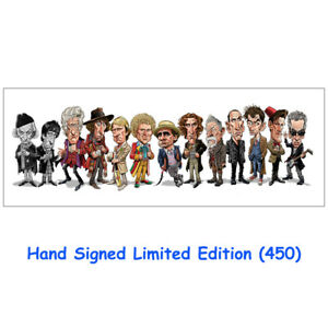 """Doctor Who """"The Doctor Makes House Calls"""" Hand Signed Ltd Edt (500) Print"""