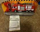 World Tech Toys Fire Rescue Water Cannon RTR Remote Control Fire Truck, Red,