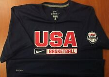 Nike Team USA Basketball Olympics Dri-Fit Performance T-Shirt L ~NEW~