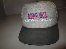 MFA Oil 64th Annual Metting Rare hat Trucker Farming Advertising Vtg