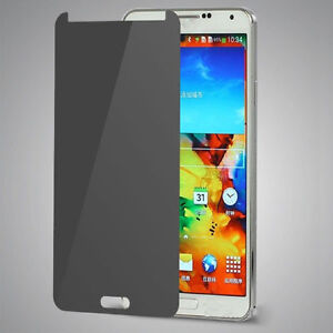 Privacy Anti-Spy Tempered Glass Screen Protector Shield For Samsung Galaxy NOTE3