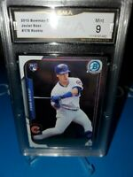 GMA 9 MINT ~2015 Bowman CHROME JAVIER BAEZ RC #178 Chicago Cubs Rookie 🔥⚾️🚀📈
