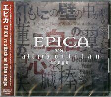 EPICA VS ATTACK ON TITAN-EPICA VS ATTACK ON TITAN SONGS-JAPAN CD C94