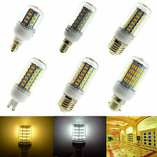 Dimmable B22 E27 E14 G9 GU10 5W 7W 9W 12W 15W 28W LED Corn Light Bulb 5730SMD