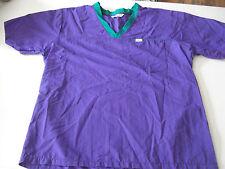 Women Scrubs Top Size Medium Nurses Uniform Medical L.L. Bean