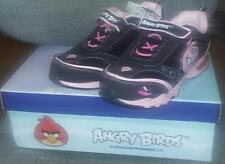 Angry Birds Girls Sneakers -Sizes 11,12,13, 2 Pink & Black SHOES Choose Size