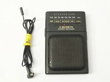 CROWN SZ-A139 stereo FM/AM receiver portable radio