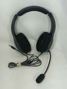 Gray & Green PDP LVL40 048-141 Wired Xbox One Gaming Headsets w/ Mic