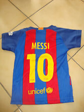 Maillot foot  FC Barcelone  Messi 10  Taille 0 mois