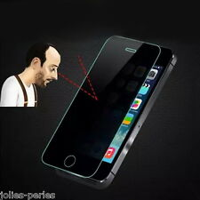 JP Black Tempered-Glass Private Privacy Anti Peek Screen Protector for iPhone 6S