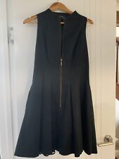 cue dress 12 black