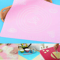 Icing Silicone Fondant Clay Pastry Dough Cake Tool Sugarcraft Rolling Cut Mat~ S