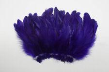 "COQUE FRINGE - PURPLE 4-6"" Feathers 60-80 pcs. Trim/Costume/Bridal/Craft/Hats"