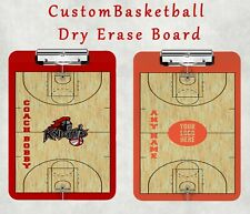 Custom Basketball Clipboard Dry Errase Personalized