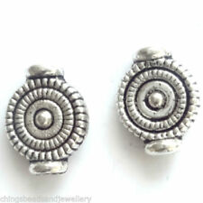Silver Tibetan Silver Round Jewellery Making Beads