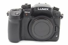 Panasonic Lumix DMC-GH4 16MP 3'' SCREEN DIGITAL CAMERA WITH ACCESSORIES