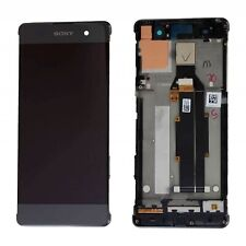 Pantalla Completa Marco Sony Xperia XA F3111 Negro Original Nuevo