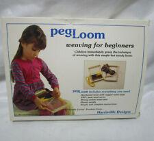 Harrisville Designs Peg Loom Weaving For Beginners - 7.5 x 10in