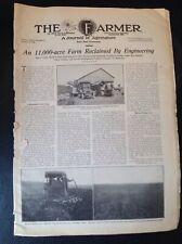 Vintage 1916 The Farmer Newspaper