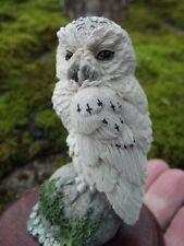 SNOWY OWL  sculpture by Willis