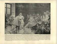 Aureli, G. ~ ~ Arte Antiguo presentación de Richelieu a Enrique IV