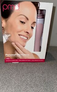 PMD Personal Microderm Pro At Home Microdermabrasion Machine Pink w Kit for Face