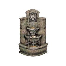 DW73048 - Saint Remy Lion Corner Fountain w/Recirculating Pump!