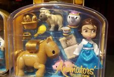 Disney Animators' Collection Belle Mini Doll Play Set - 5 Inch NEW