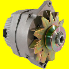 NEW ALTERNATOR TRACTOR 1-WIRE 63 AMP 10SI w PULLEY for 1 Inch Wide Belt