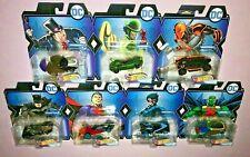 7x 2019 Hot Wheels DC Character Cars PENGUIN / BATMAN / NIGHTWING / DEATHSTROKE