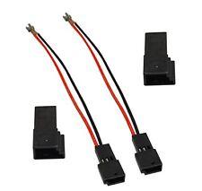 Aerzetix 2 Câbles Connecteurs adaptateurs Haut-parleurs