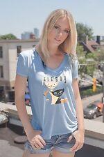 Feline Groovy Cats Jazz Sexy Ladies T-Shirt