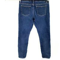 MICHAEL KORS Skinny Jeans Women's Sz 8 Stretch Dark Wash Ankle Jegging Casual