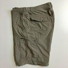 Columbia Omni-Shade Men's 40 Brown 100% Nylon Outdoor Hiking Camping Shorts