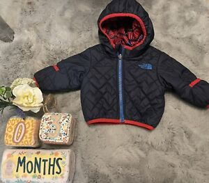 Desinger Baby Boys 0-3 Months The North Face Coat Two Sides Coat