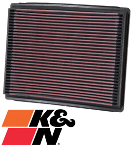 K&N REPLACEMENT AIR FILTER FOR FORD LTD DF DL AU MPFI SOHC VCT 4.0L I6