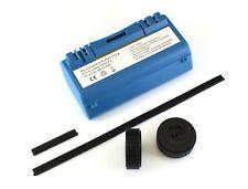 NiMh batterij 4800 mAh voor Scooba 385, 5800, etc met 2 wieltjes en rubberstrips