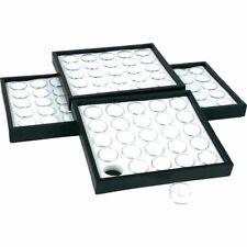 4 White 25 Gem Jars Display Amp Stackable Tray