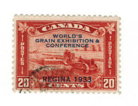 CANADA SCOTT 203 USED WITH A LIGHT CIRCLE CANCEL