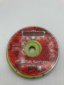 Sega Saturn Disc Only Tested Ghen War Ships Fast
